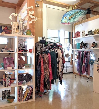 Promotional photo of the Visions Art Museum Store. Courte...