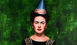 Promo graphic for 'The World Of Frida'