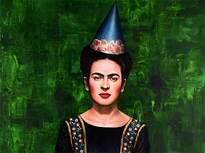 Promotional picture of Frida Kahlo. Courtesy of Carlos Vi...