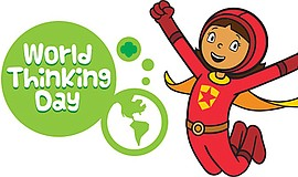Promo graphic for World Thinking Day