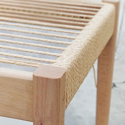 Promotional photo for The Wooven Stool. Courtesy of SD Cr...
