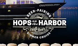Promo graphic for Hops On The Harbor With Bay City Brewing