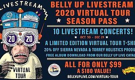 Promotional graphic for Belly Up Livestream 2020 Virtual ...