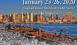 Promo graphic for San Diego Sunroad Marina Boat Show Re...
