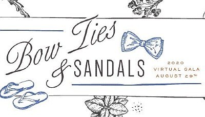 Promotional graphic for Bow Ties & Sandals. Courtesy of O...