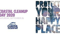 Promotional graphic for Coastal Cleanup 2020. Courtesy of I Love A Clean San ...