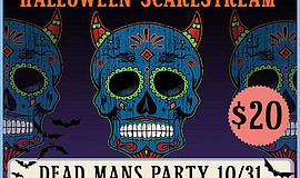 Promotional graphic for Dead Man's Party. Courtesy of Bel...