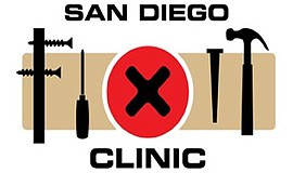 Promo graphic for San Diego Fixit Clinic