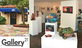Promo graphic for Gallery 21 In Balboa Park