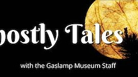 Promotional graphic for Ghostly Tales. Courtesy of Gaslam...