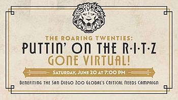 Promotional graphic for Rendezvous in the Zoo. Courtesy o...
