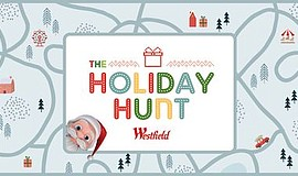 Promo graphic for AR Holiday Hunt