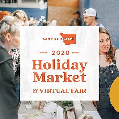 Promotional photo for San Diego Made Holiday Market At Gr...