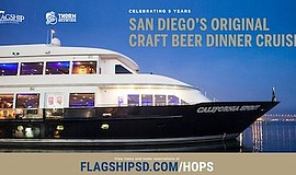 Promo graphic for Hops On The Harbor With Thorn Brewing Co