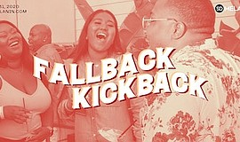 Promotional graphic for Fallback Kickback. Courtesy of SD...