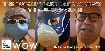 Promotional graphic for The Totally Fake News With Cultur...