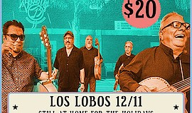 Promotional photo of Los Lobos. Courtesy of Belly Up.