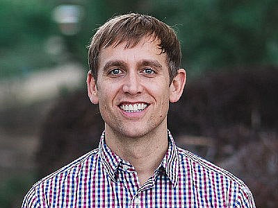 Promotional photo of Andrew Ward, PhD. Courtesy of Scripp...