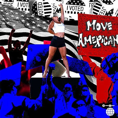 Promotional graphic for Move American courtesy of Disco R...