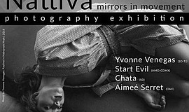 Promotional poster for Nattiva featuring photography by Y...