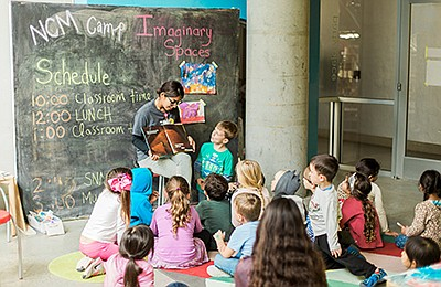 Photo of children participating in a New Children's Museu...