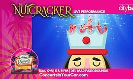"""Promotional graphic for """"The Nutcracker Live."""" Courtesy o..."""