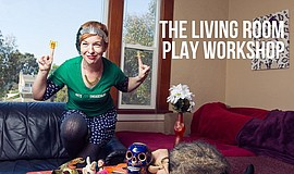 Promotional graphic for the Old Globe's Living Room Play ...