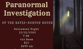 Promotional graphic for Paranormal Investigation. Courtes...