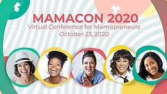Promotional graphic for MamaCon 2020. Courtesy of Mamas & Co.