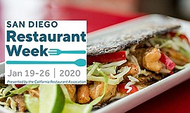 Promo graphic for San Diego Restaurant Week At Galaxy Taco