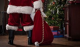 Promotional photo for Santa's Coming To Town. Courtesy of...