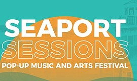 Promo graphic for Seaport Sessions: Virtual Pop-Up Musi...
