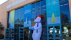 Promotional photo for Seas 'N' Greetings at Birch Aquarium. Courtesy of Birch...