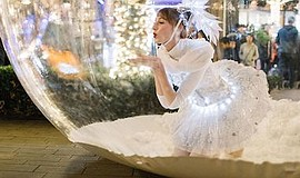 Promotional photo for The Snow Globe Collection. Courtesy...