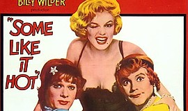 "Promotional film poster for ""Some Like It Hot"". Courtesy ..."