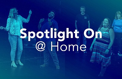 Promotional graphic for Spotlight On At Home, courtesy of...