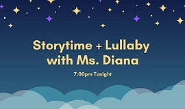 Promo graphic for Bilingual Singalong Storytime + Lulla...