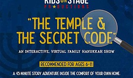 Promo graphic for 'The Temple & The Secret Code'