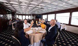 Promotional photo for Thanksgiving Day Dining Cruise. Cou...