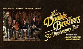 Promotional graphic for The Doobie Brothers, courtesy of ...