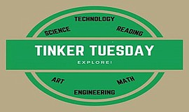 Promo graphic for Tinker Tuesday: Engineering Challenge...
