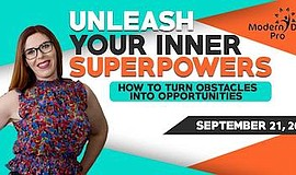 Promo graphic for Unleash Your Inner Superpowers: How T...