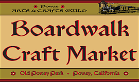 Promo graphic for Poway Arts & Crafts Guild Presents Th...