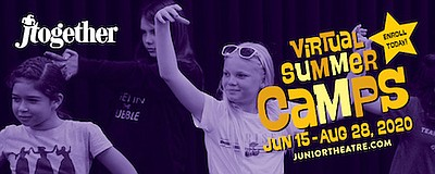 Promotional graphic for Virtual Summer Camps. Courtesy of...