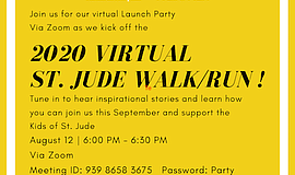 Promotional graphic for Virtual Walk/Run. Courtesy of St....