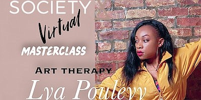 Promotional photo of Lya Pouleyy for her Art Therapy clas...