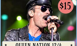 Promo graphic for Queen Nation: Virtual Tour 2020