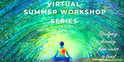 Promotional graphic for Virtual Summer Workshop Series. C...