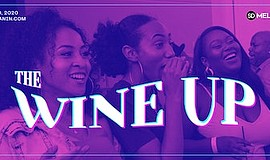 Promo graphic for The Wine Up