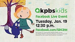 Promotional photo for KPBS Kids Event: Peg + Cat. Courtesy of San Diego Child...